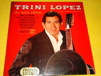 TRINI LOPEZ - THE LATIN ALBUM LP SPAIN 1964