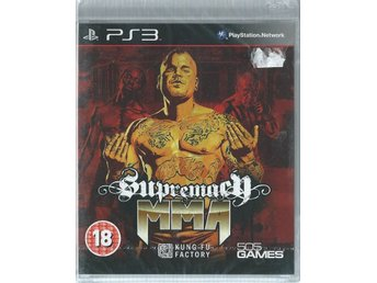 SUPREMACY MMA  (INPLASTAT PS3 SPEL )