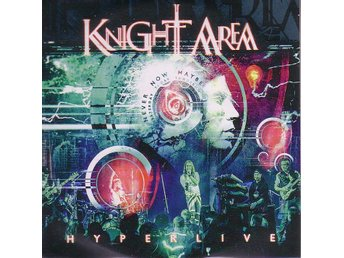 Knight Area-Hyperlive / Promo CD + DVD / Progressive Metal