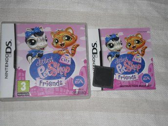 Nintendo DS: Littlest Pet Shop City Friends (på svenska)