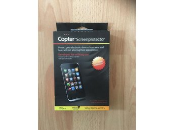 Copter screenprotector mobil glasskydd