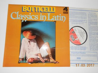 BOTTICELLI - Classics in Latin, UK LP Decca Phase 4 Stereo