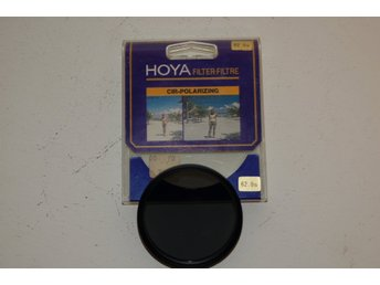 Hoya Polarizing filter. Polarisationsfilter.