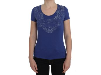 Ermanno Scervino - Blue Modal Stretch T-shirt