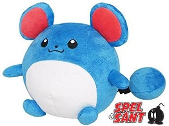Sanei Pokemon 15cm Plush Marill Figur