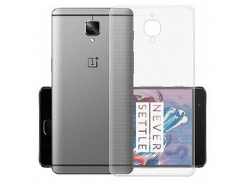 OnePlus 3/3T TPU Skal Simple® Färg: Transparent