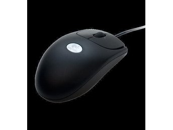Logitech RX 250 Optical Mouse black