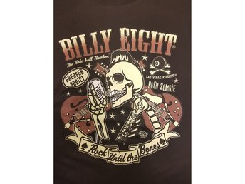 Billy eight Rock until the bones t-shirt Medium
