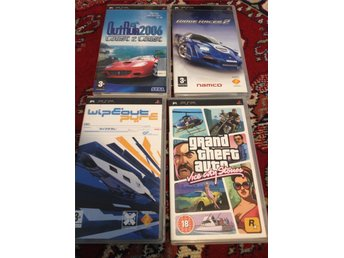 Outrun, Ridge Racer 2. Wipeout, GTA