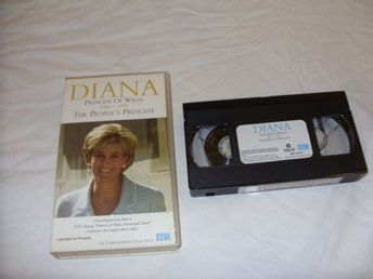 Diana Princess of Wales The Peoples Princess 1961 & 1997 VHS PAL Engelsk