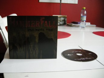 Hammerfall - One more time CD-singel CD-Maxi Heavy Metal Power Metal