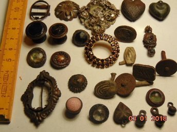 Very old jewelry XVII - XIX AGE