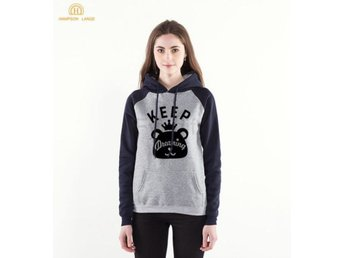 Damtröja Autumn Women Raglan Hoodies Keep dark blue XXL