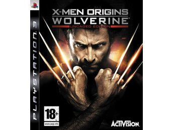 X-Men Origins Wolverine - Playstation 3