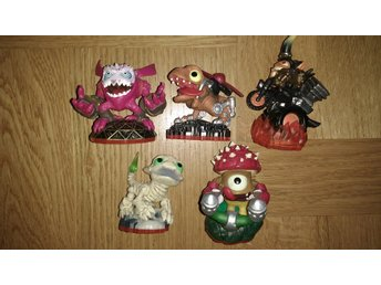 Skylanders Trap Team: 5 små figurer Nintendo PlayStation Xbox