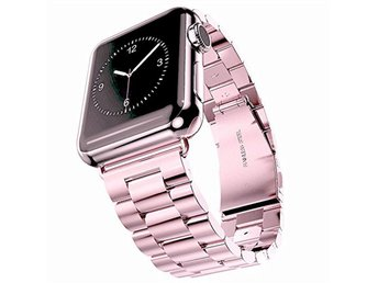 AppleWatch Stål ROSA 42mm