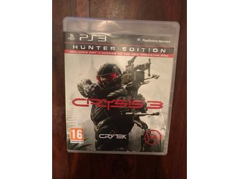 Crysis 3 PS3 Playstation Action Game Hunter Edition