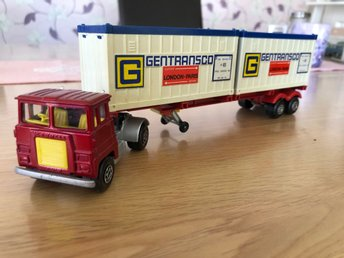 Matchbox  Super kings scammel crusader container truck