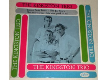 Kingston Trio OMSLAG EP C´mon Betty home 196? M-