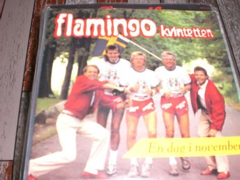 "FLAMINGOKVINTETTEN "" EN DAG I NOVEMBER "" MINT-"