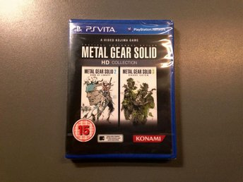 Metal gear solid HD collection (Ps vita) Nytt & inplastat