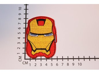 Iron Man Broderat tygmärke att stryka på | Iron-on patch