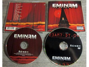 Eminem The Eminem Show CD+DVD Dubbel CD
