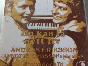 Anders Eriksson - Jesus ger allt. Singel - Bolmsö - Anders Eriksson - Jesus ger allt. Singel - Bolmsö