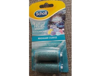 Scholl Velvet smooth, Regular Coarse, Marine Minerals, 2 roller. Ny!