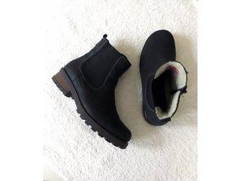 varmfodrade chelsea boots herr