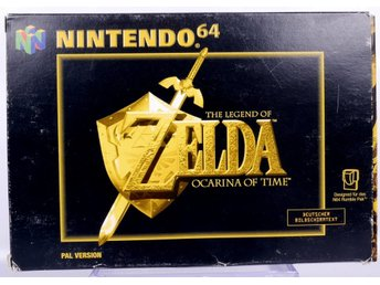 The Legend of Zelda: Ocarina of Time - N64 - PAL (EU)
