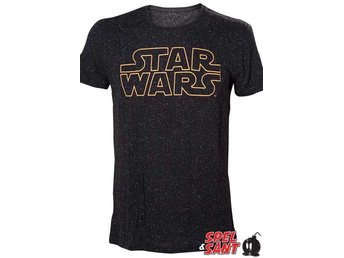 Star Wars Logotype T-shirt Svart (XX-Large)