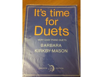 It's time for Duets - very easy piano duets
