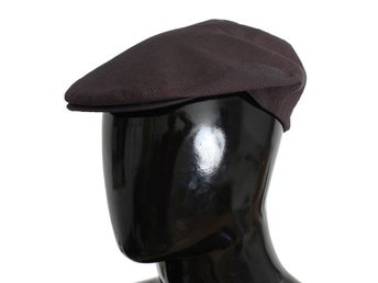 Dolce & Gabbana - Brown Striped Newsboy Cap