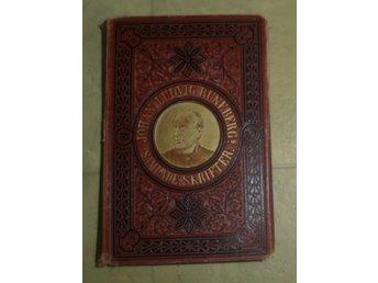 Javascript är inaktiverat. - Brunflo - Jag säljer Johan Ludvig Runeberg - Samlade Skrifter (Tryckt 1876) det blänkande på omslaget är ifrån blixten från kameran..Det som syns på bilderna är det jag säljer som sagt säljer dessa för jag har inget behov längre utav dem kansk - Brunflo