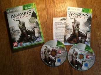 ASSASSIN´S CREED III  XBOX 360 BRA SKICK