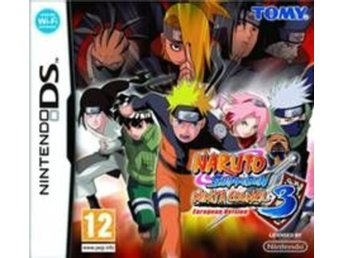 Naruto Shippuden Ninja Council 3 - European Version - Nintendo DS