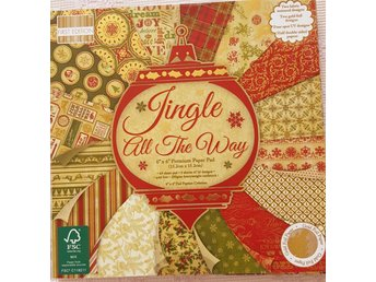 Scrapbookingpapper Jingle all the way