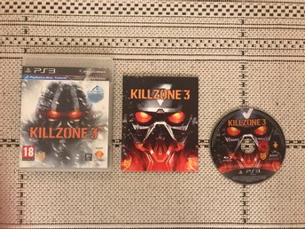 Killzone 3 till Playstation 3, PS3, komplett