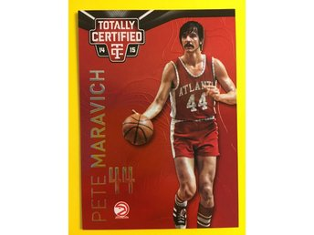 PETE MARAVICH: 2014-15 Totally Certified Platinum Red #136 279ex