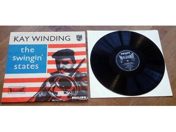 KAI WINDING Swinging States Jazz Philips+ Hank Jones 1950's