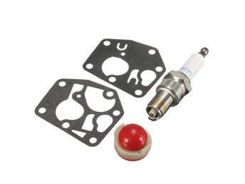 Carburetor Carb Primer Bulb Diaphragm Gasket Plug Kit For...