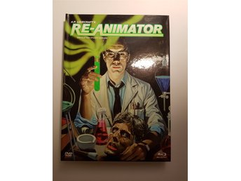 Re-animator (Blu-ray + DVD) (Mediabook) (Tysk utgåva)