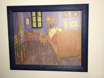 Bedroom at Arles (Van Gogh - 1889)