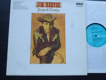 JIM REEVES - Young & country RCA Tyskland Tidigt 70 tal ?
