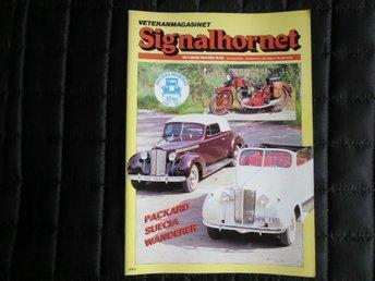 Signalhornet nr 3 1984 Suecia, Packard, Munktell 1927 - åhus - Signalhornet nr 3 1984 Suecia, Packard, Munktell 1927 - åhus
