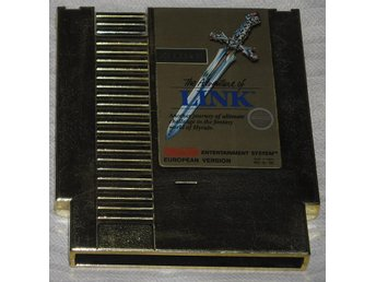 Nintendo 8-bit/NES: The Legend of Zelda II 2 Link (EEC)