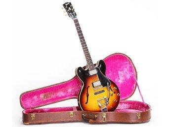 """Original vintage Gibson ES 335 1960 med """"zebra"""" PAF pickup !! - Järfälla - Original vintage Gibson ES 335 1960 med """"zebra"""" PAF pickup !! - Järfälla"""