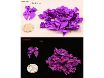 22 satinvävda rosetter av textil - Vallentuna - 22 satinvävda rosetter av textil - Vallentuna