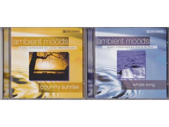 AMBIENT MOODS - Country Sunrise Whale Song - 2 CD-skivor - Stockholm - AMBIENT MOODS - Country Sunrise Whale Song - 2 CD-skivor - Stockholm